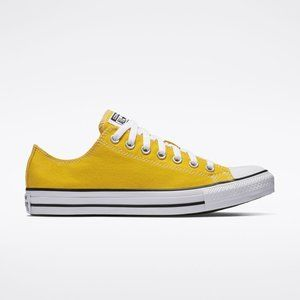 Converse Yellow Low Top Chuck Taylor All Stars